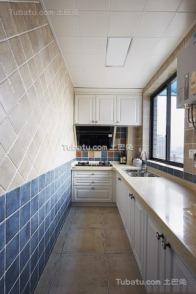 地中海风格厨房设计