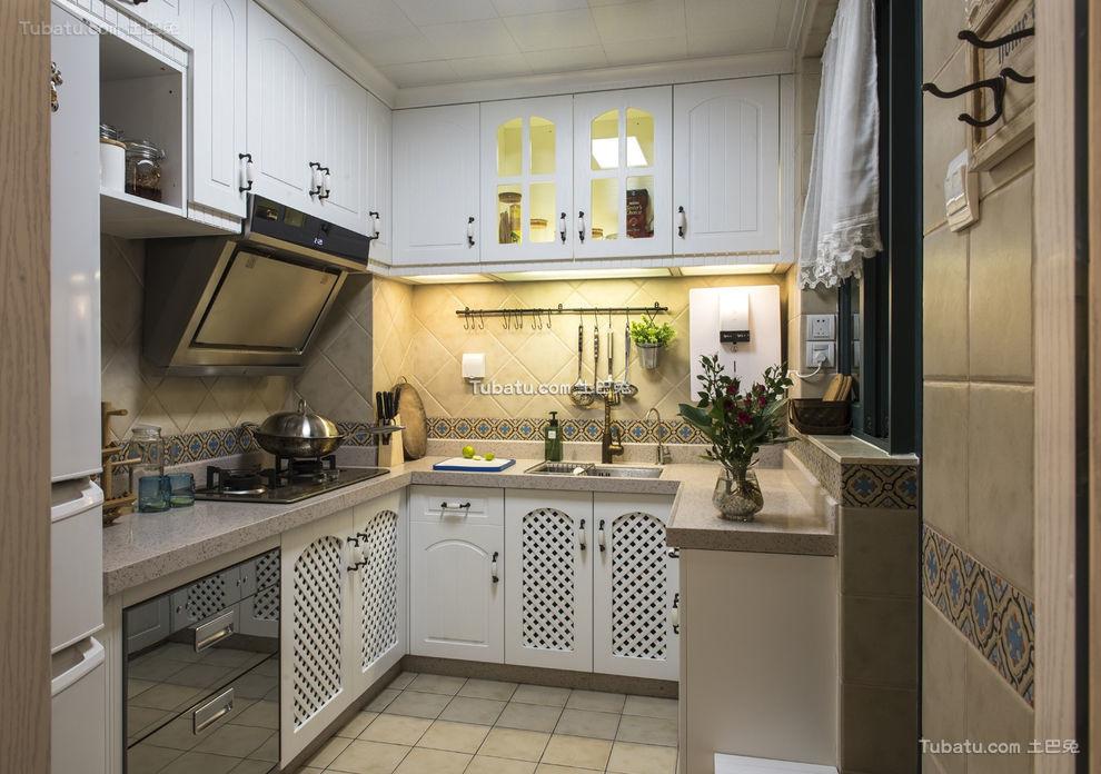 地中海风格厨房设计装修