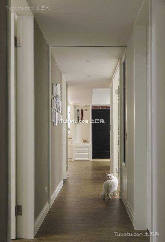 美式室内过道设计效果图片