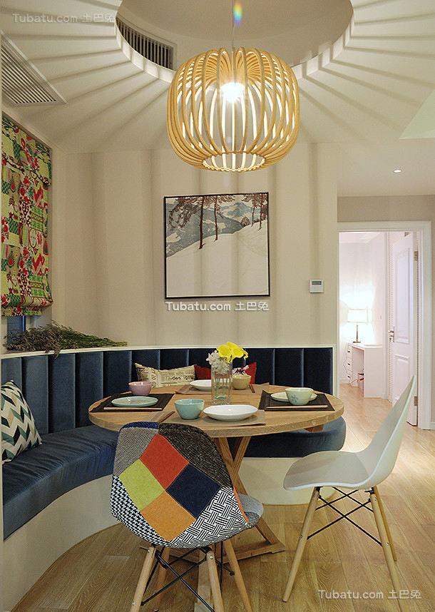 现代家居公寓餐厅设计效果图