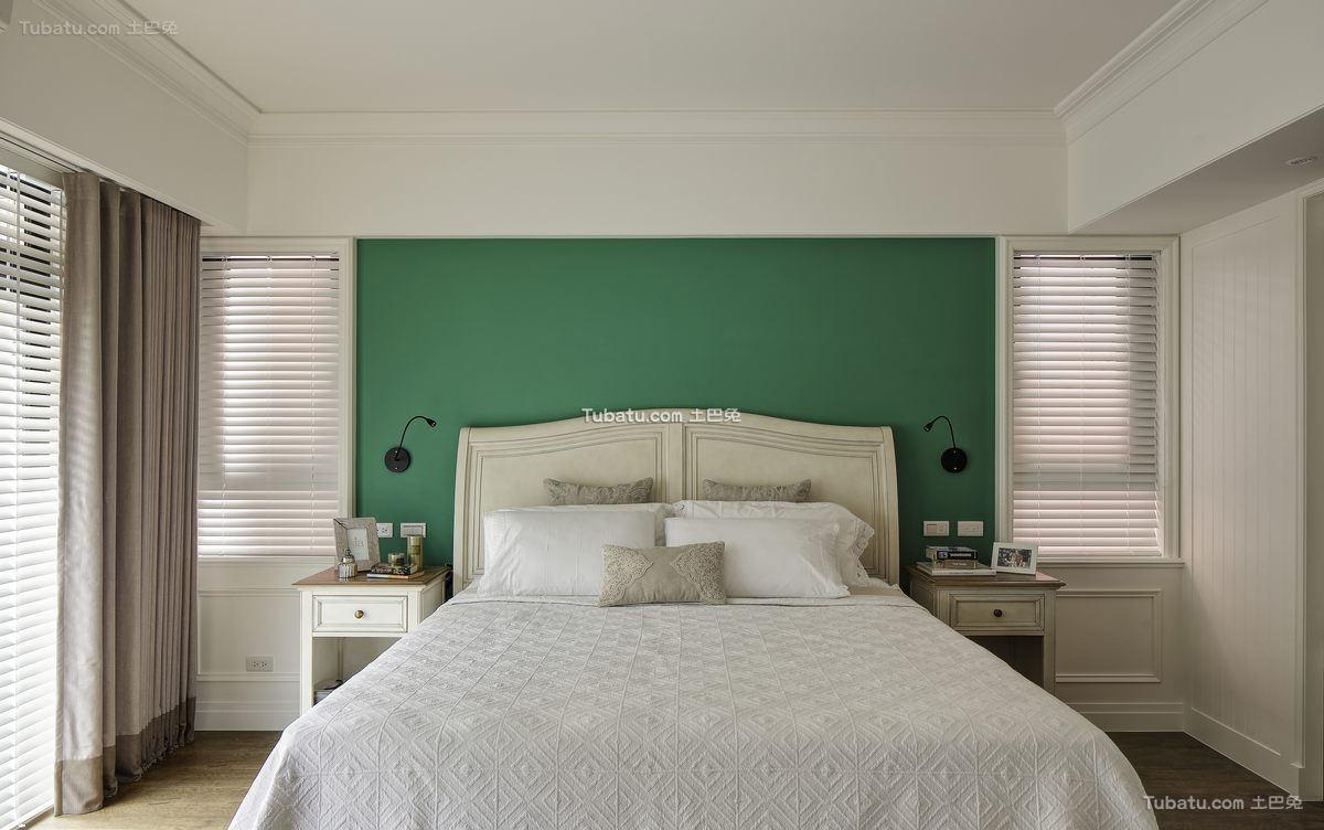 美式简约卧室设计效果图片