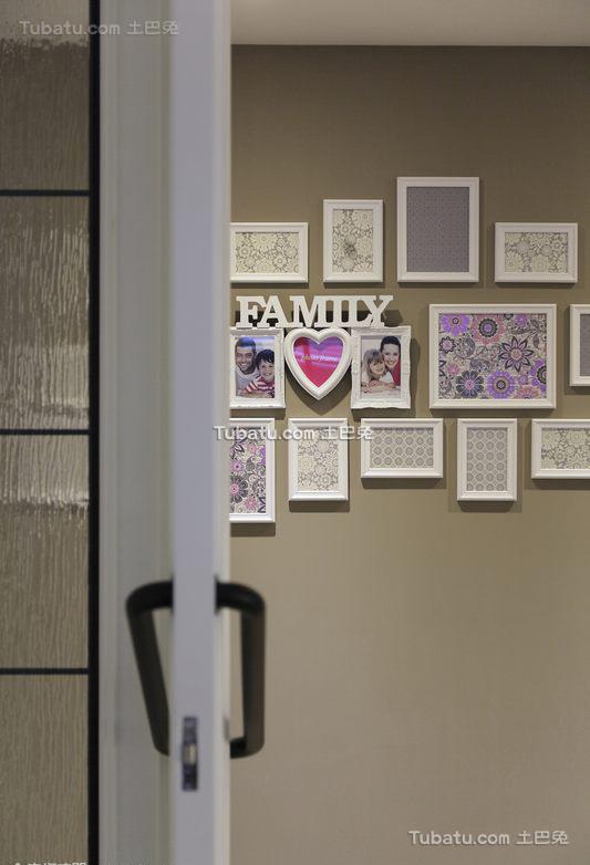 现代美式室内相片墙设计效果图片欣赏
