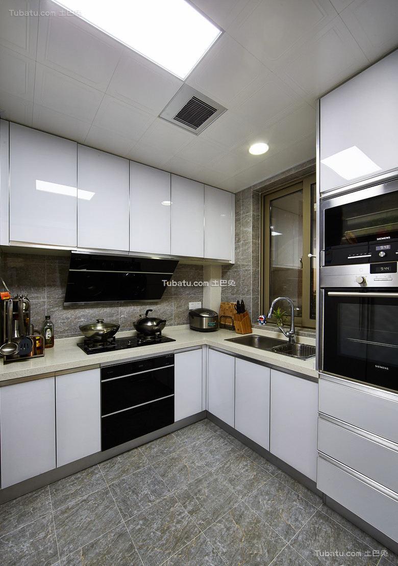 现代简约厨房家居设计装饰效果图