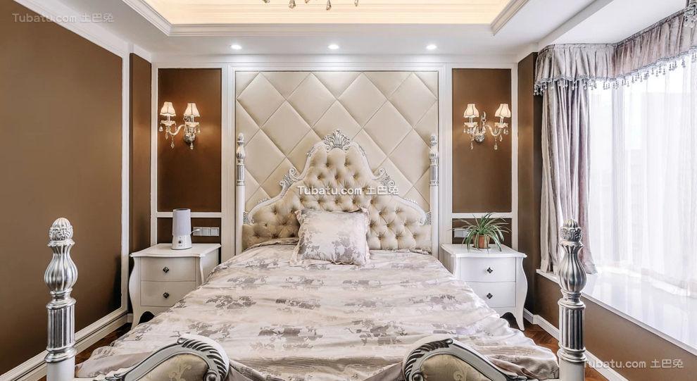 豪华新古典卧室装修美图