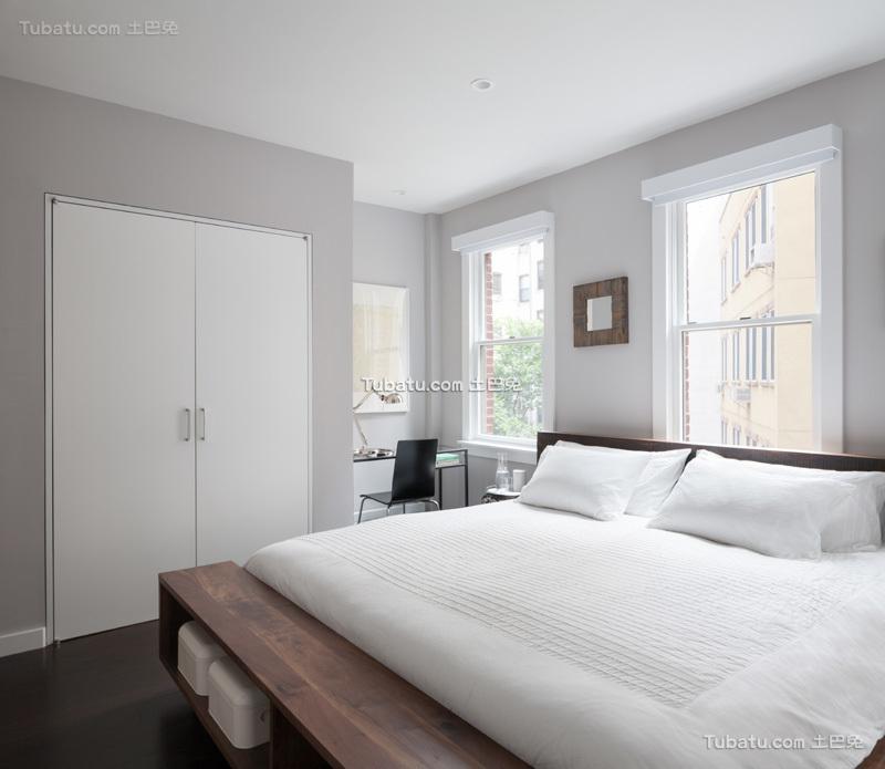 极简英式卧室设计