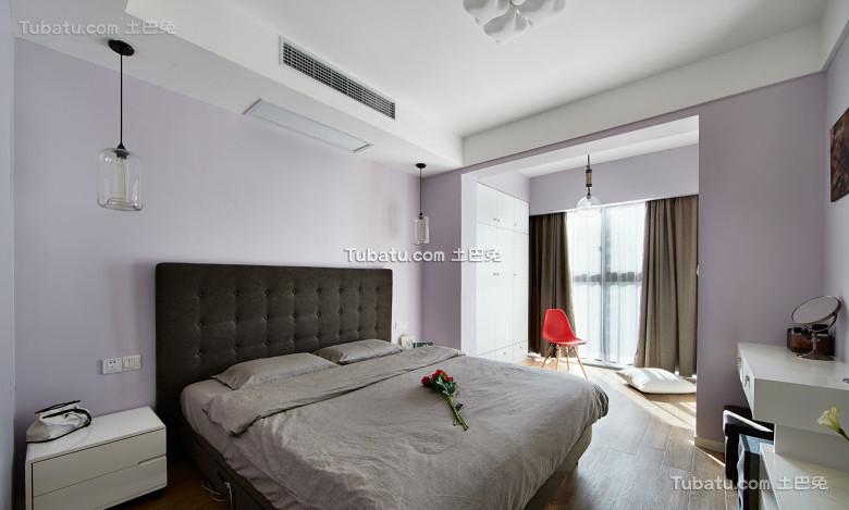 现代简约卧室家居设计装饰效果图