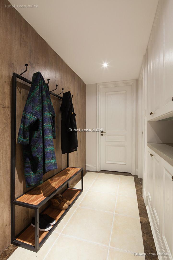北欧风格室内玄关家装设计效果图片