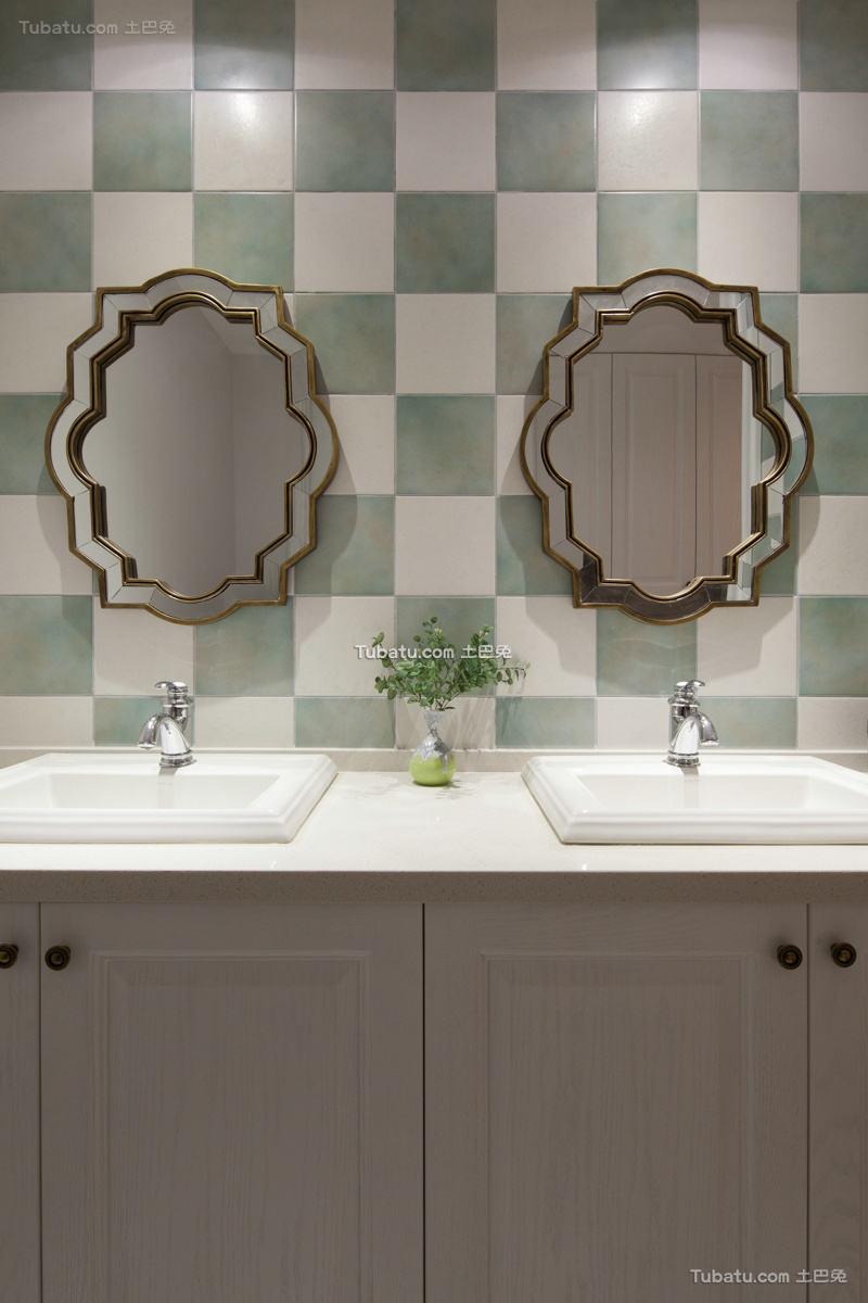 北欧风格室内卫生间设计效果图片
