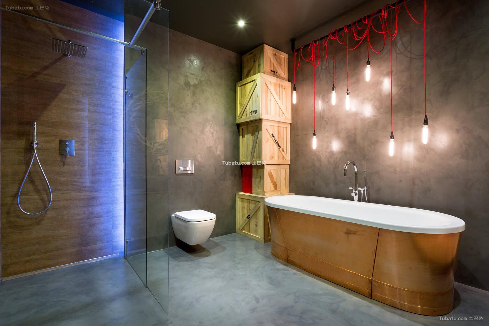 家居装修卫生间浴池图