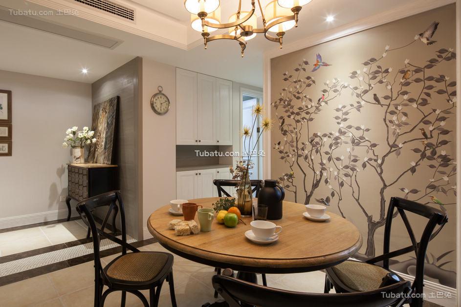 北欧风格餐厅设计效果图片欣赏