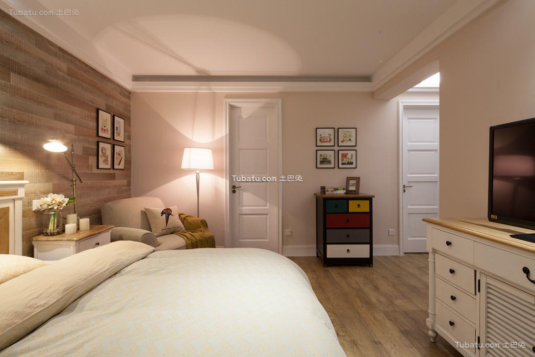 北欧风格卧室家装设计效果图片