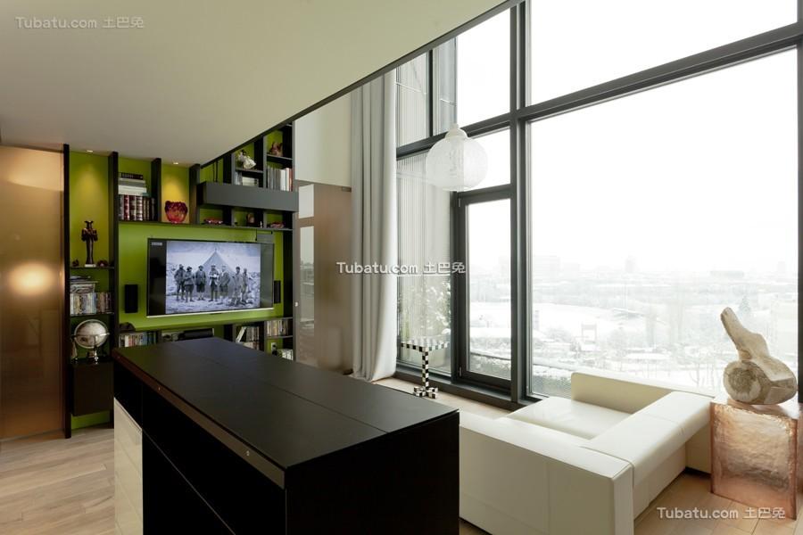 波西米亚风格loft设计