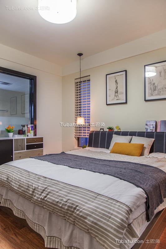 现代简约卧室装饰设计效果图片