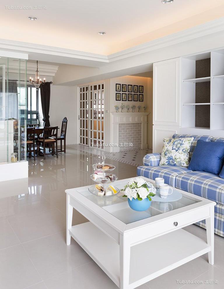 简欧设计小客厅大全