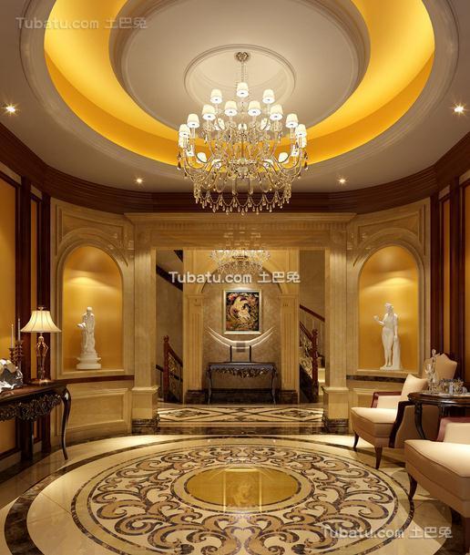 豪华会所设计装饰室内效果图片欣赏