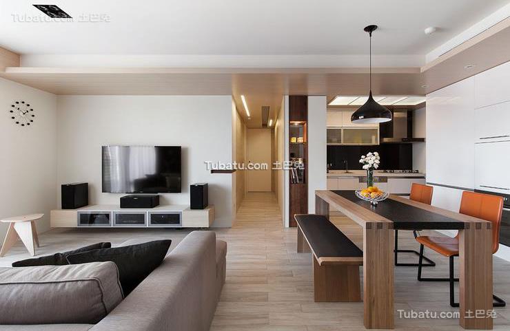 现代设计客厅电视背景墙2015