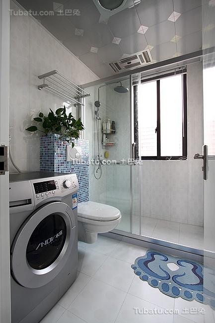 简约家居卫生间装饰效果图片