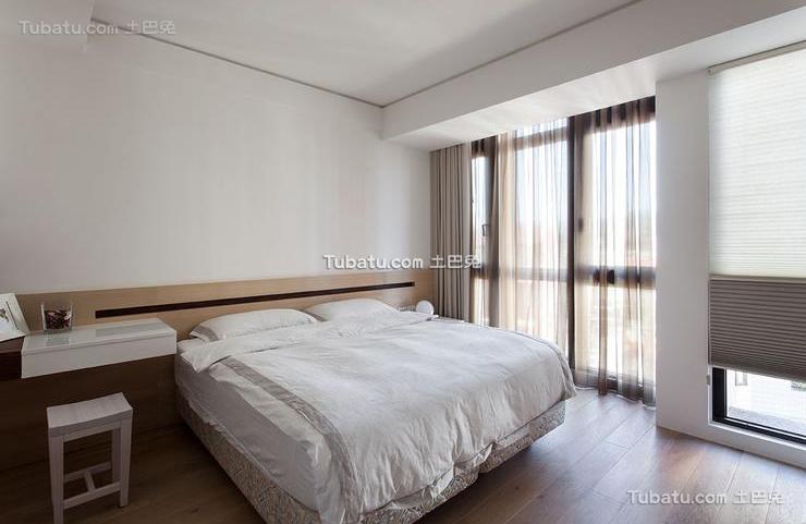 装饰设计现代卧室窗帘