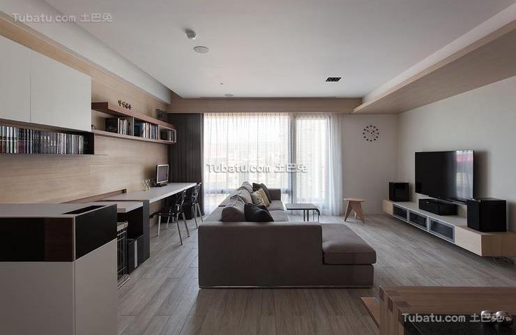 现代装修130平米四室两厅欣赏