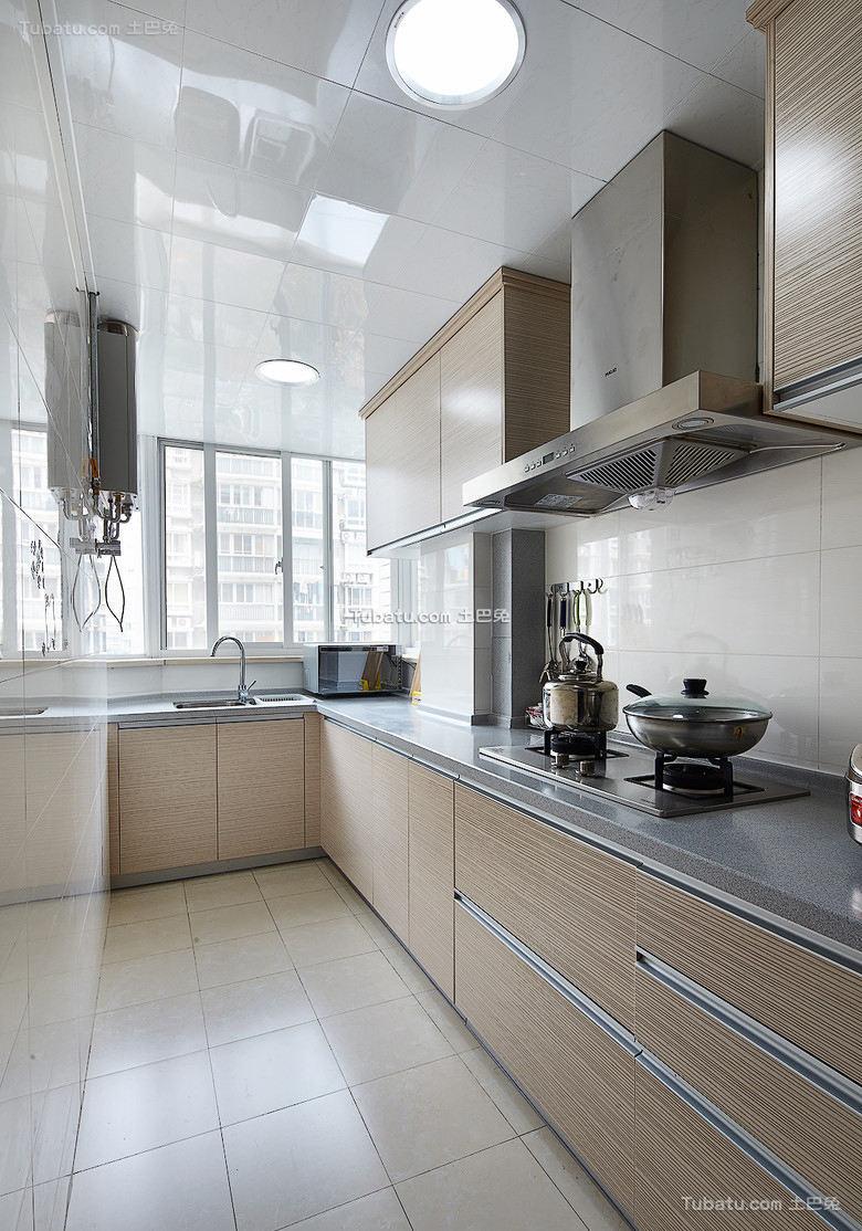 现代家装厨房设计效果图片欣赏