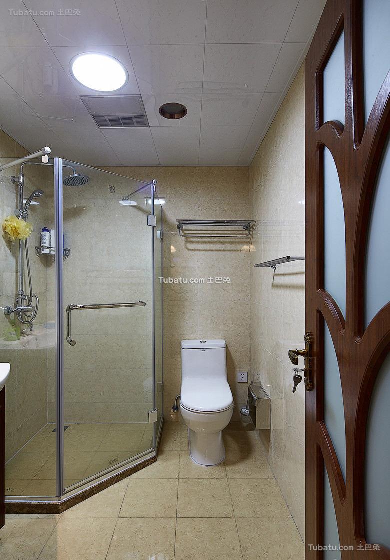 现代家装卫生间设计效果图片