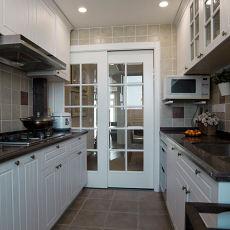 美式室内厨房装饰效果图