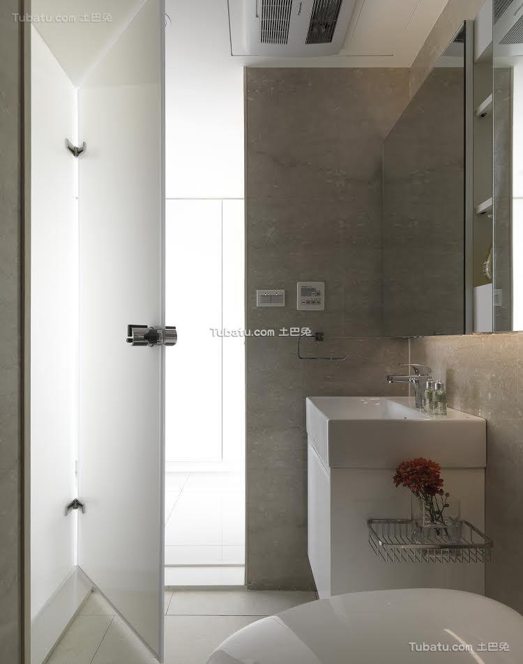 简约卫生间设计图片欣赏