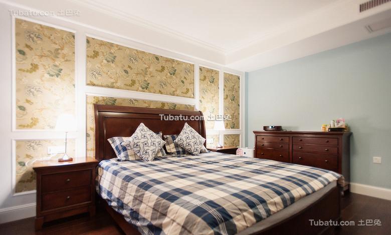 美式家居卧室装修设计效果图