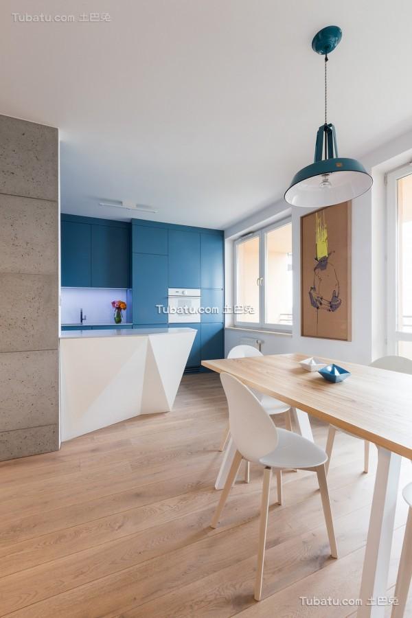 现代创意艺术感的公寓设计