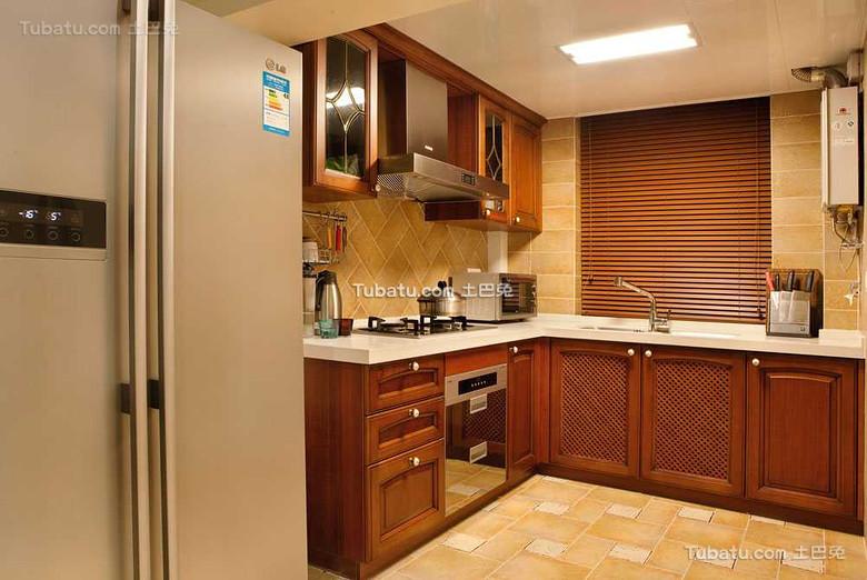 东南亚风格家居厨房设计效果图