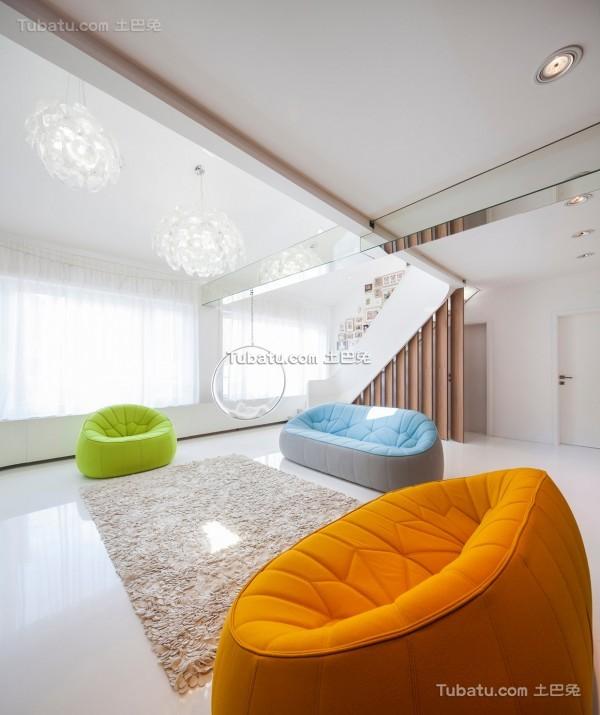 简约唯美的loft装修设计