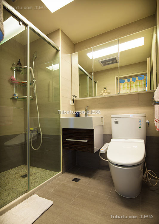北欧风卫生间室内设计图片