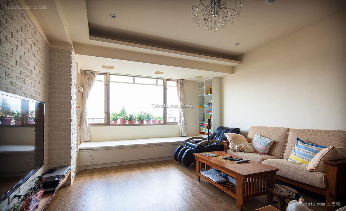 北欧风三居室内设计图片