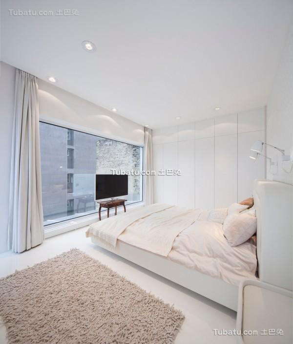 简约唯美的loft卧室设计