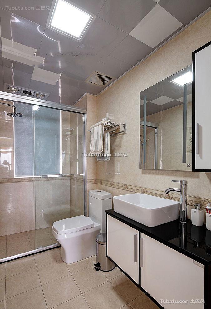 8平米现代卫生间装潢设计
