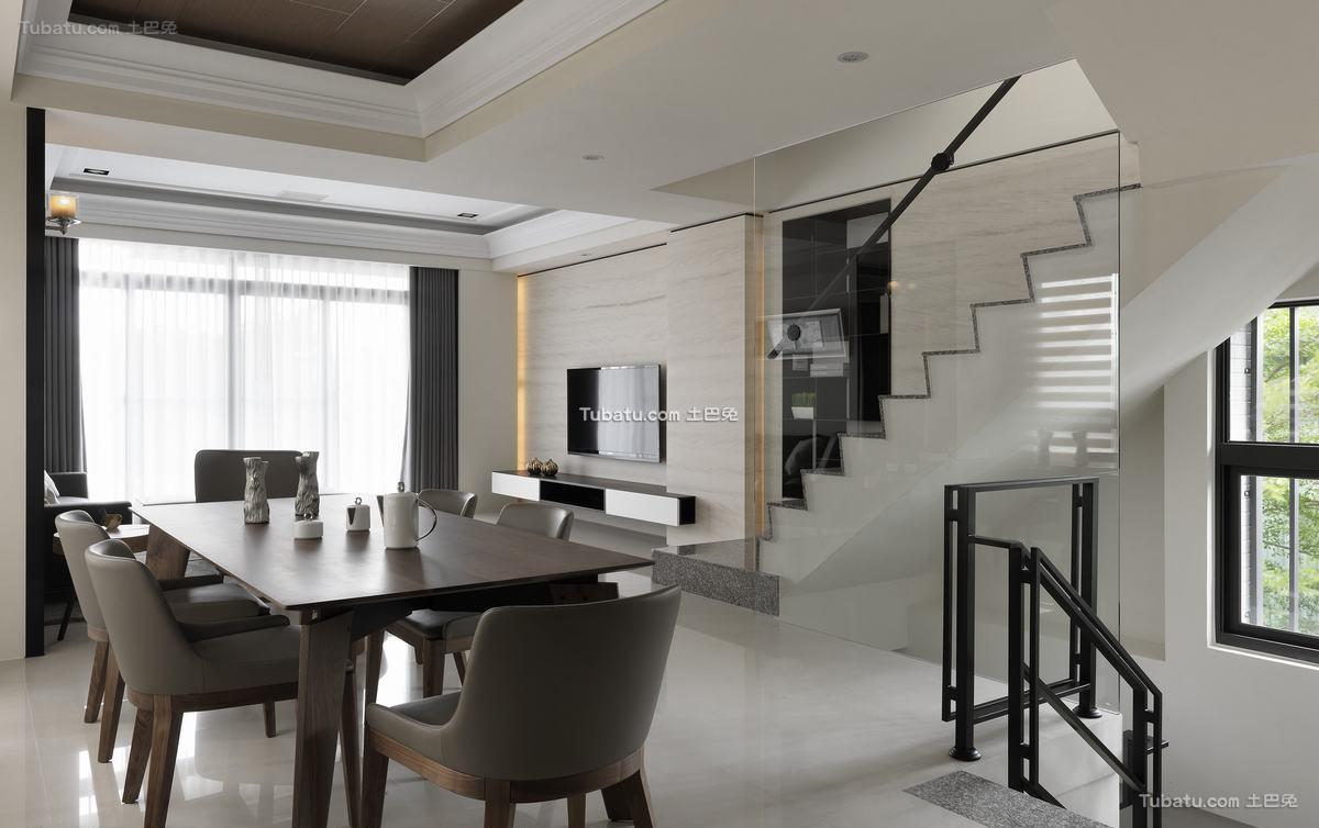 简约现代餐厅家装效果图片