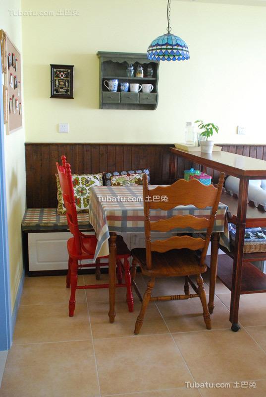 创意地中海小居餐厅装修