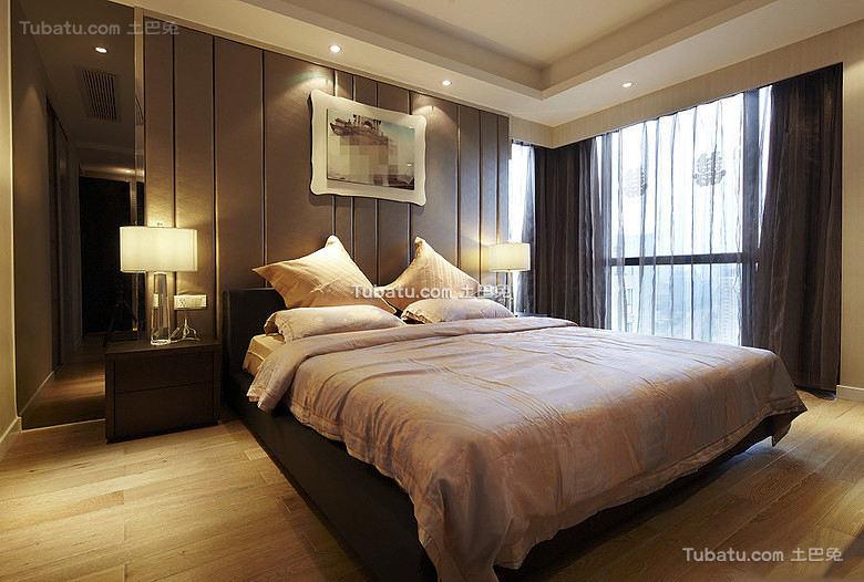 温馨宜家风主卧室设计