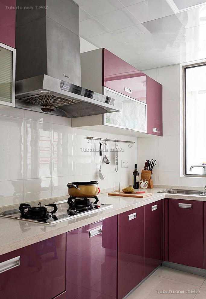 现代精美橱柜厨房装修