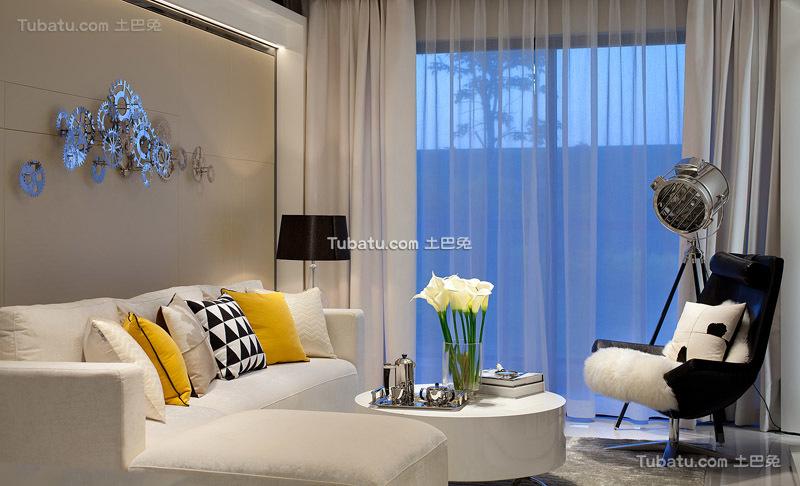 设计小客厅窗帘大全