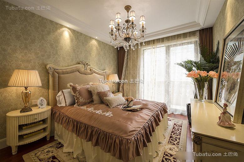 精致唯美欧式卧室装修图片
