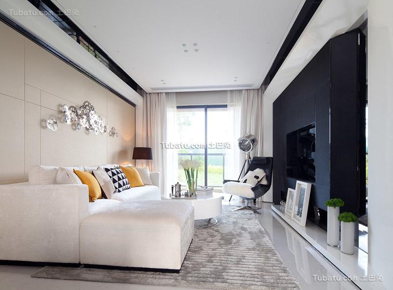 简约北欧风格三室两厅欣赏