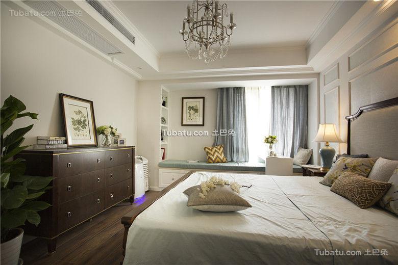 复古简约美式卧室设计
