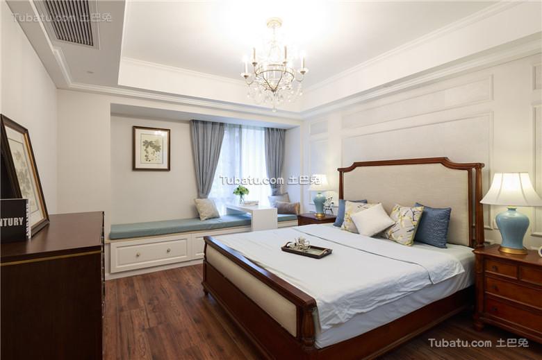 简约美式卧室装潢大全