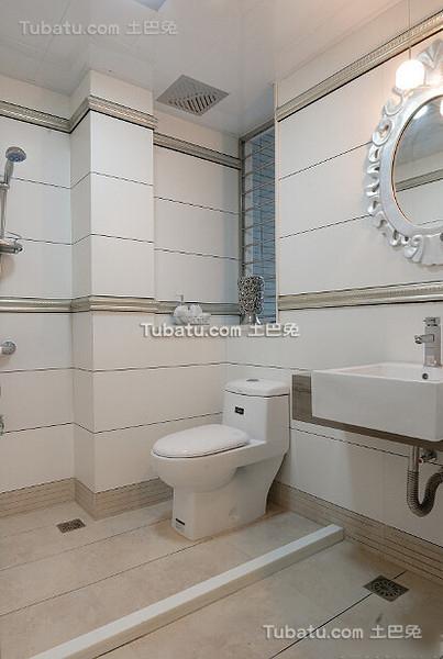 简约卫生间装潢设计