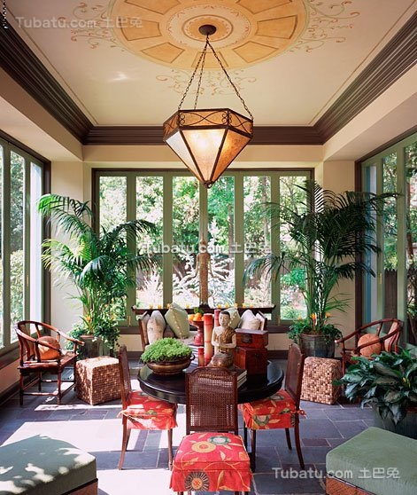 东南亚风格泰国别墅设计