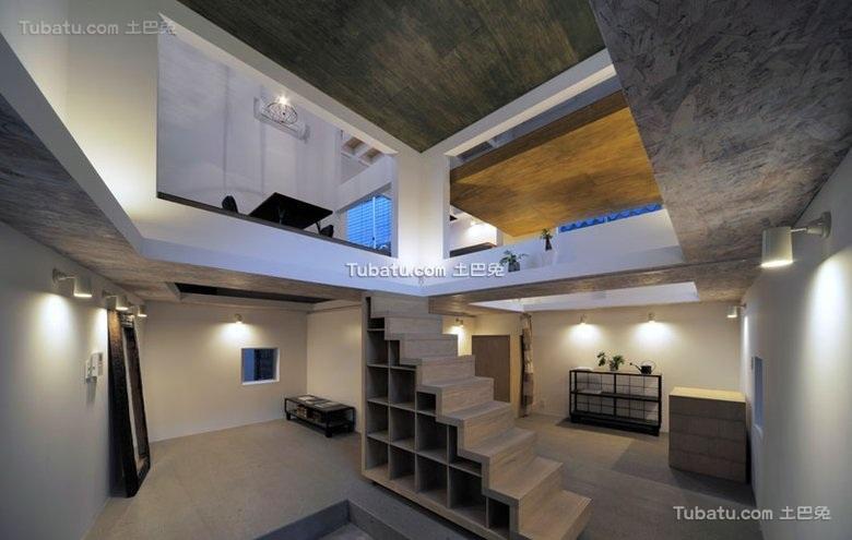 东京非凡创意极简loft设计
