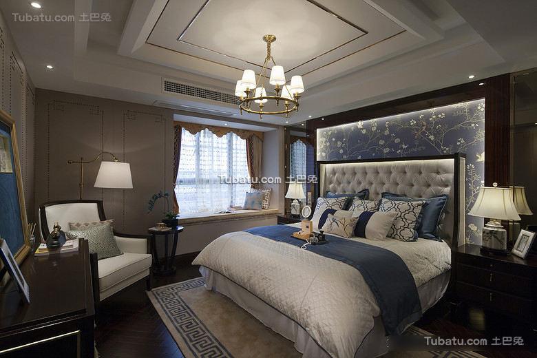 豪华混搭卧室设计