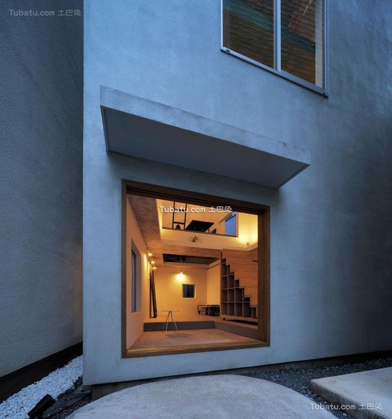 东京非凡创意极简住宅设计