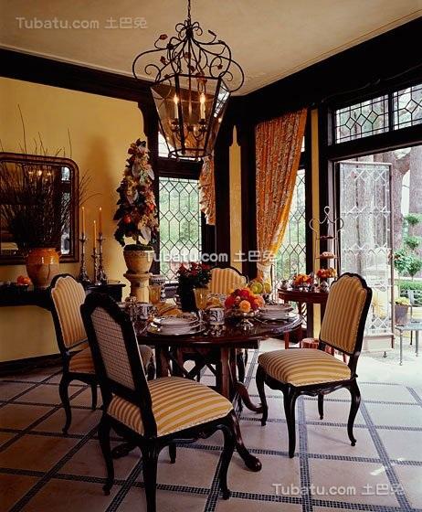 东南亚风格豪华餐厅设计